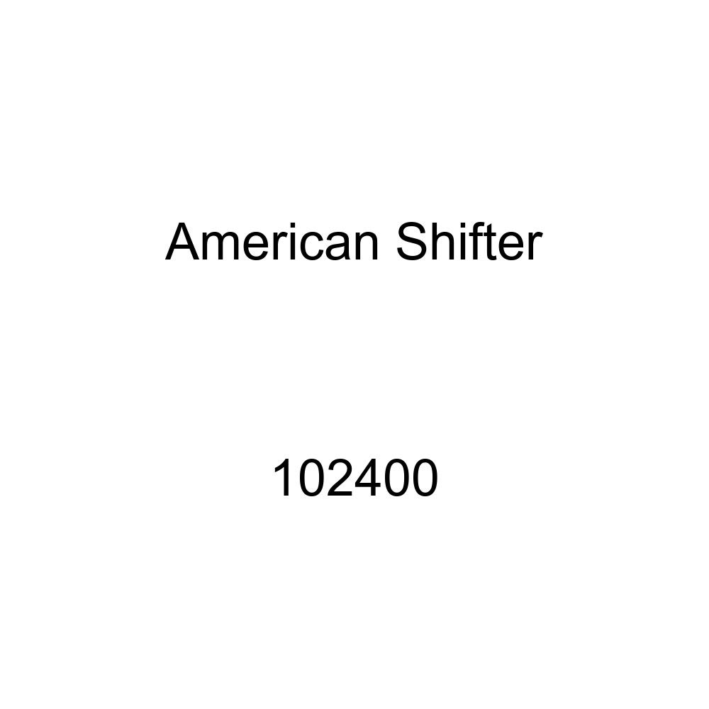 American Shifter 102400 Red Shift Knob with M16 x 1.5 Insert Black Open