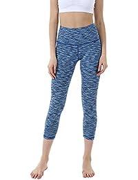 Women's Power Yoga Pants – High Waist Tummy Capri WHC8217 – Control Shapewear With Streamlined Design Leggings