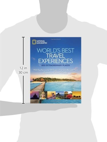4100vl3fKkL - World's Best Travel Experiences: 400 Extraordinary Places
