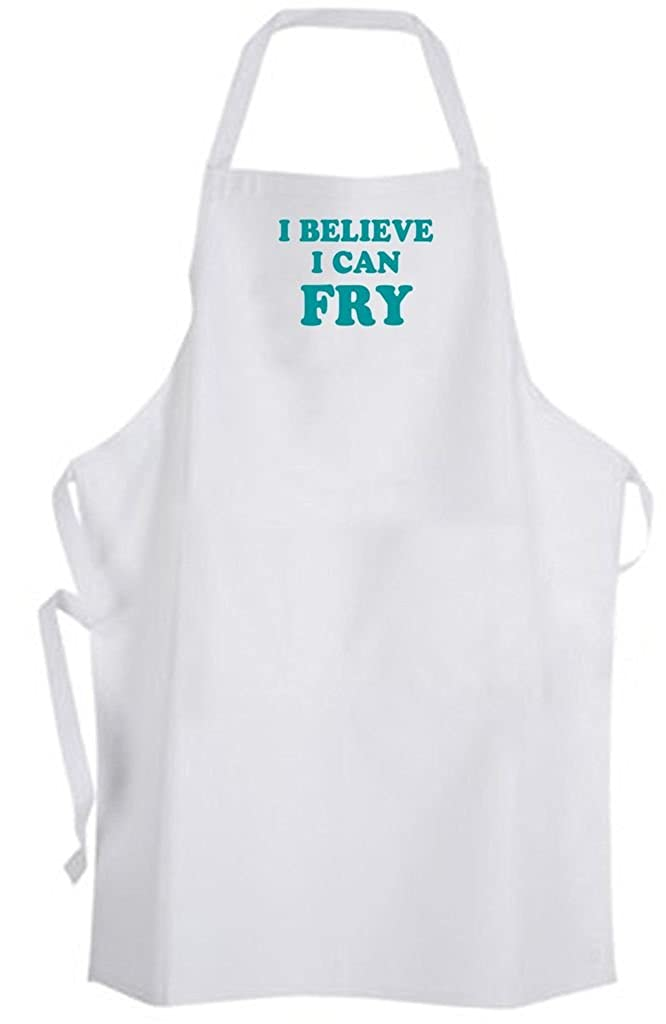 I Believe I Can Fry – サイズ大人用エプロン – Cooking Chef Cook Quote Funnyユーモア   B06XQCX79V
