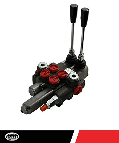 Chief P40 G Series Directional Control Valve Loader: 2 Spool, 3 Position Spring Center and 4 Position Float, 10 GPM, 3625 PSI, SAE #10 Inlet and Outlet, SAE #8 Work Ports, 220956 by Chief (Image #1)