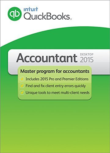 Intuit Quickbooks Accountant Version Windows product image