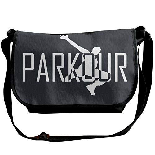 KMYUROOL Single Shoulder Pack Parkour Art Fashion Bag for Student (Best Parkour And Freerunning 2019)