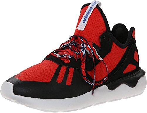 adidas Men's Tubular Runner Running Shoes Red/Black/White 10 D(M) US