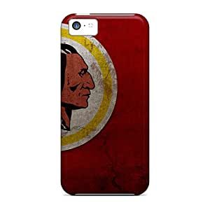 Iphone 5c IXS13243xvEE Special Colorful Design Washington Redskins Skin Protective Cell-phone Hard Covers -RitaSokul