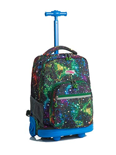 e09396e708 Choies Rolling Backpack Wheels girls boys for Students Kids to School Travel  19 Inch