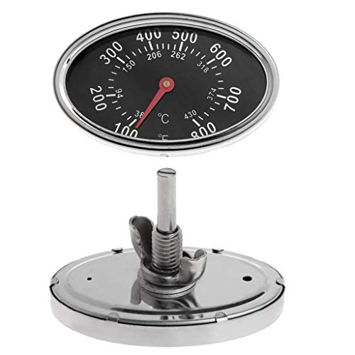 MEIYIN 800℉ Oval BBQ Pit Smoker Grill Thermometer Dial Temperature Gauge Replacement