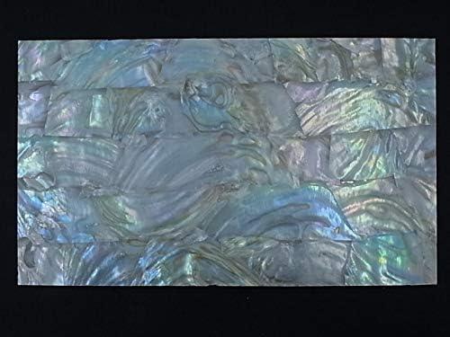 【貝殻不思議発見】貝殻シート#1(フレッシュウォーターパール)【シートサイズ14cm×24cm 厚さ0.18mm-0.2mm 】