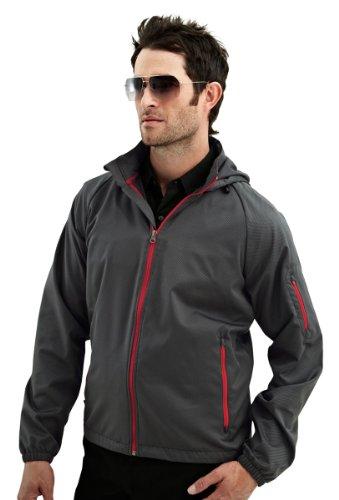 - TMR Racing Lightweight Waterproof Mini-Grid Dobby Hooded Jacket