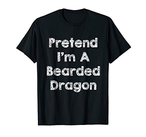 Pretend Bearded Dragon Costume Funny Halloween Shirt Outfit ()