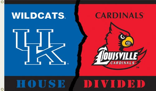 (NCAA Flag NCAA: Kentucky-Louisville House divided )