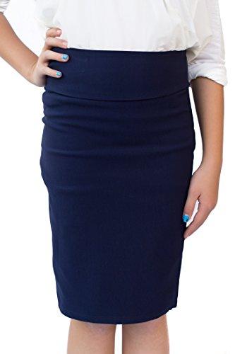 Blue Long Skirt - 6