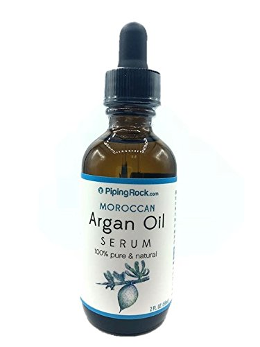 Piping Rock Argan Oil Serum, 2 fl oz (59 ml) Dropper Bottle