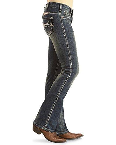 Western Reg J DFMI Wash Jeans Medium 29 Tuff Womens Denim Cowgirl 7qA05n