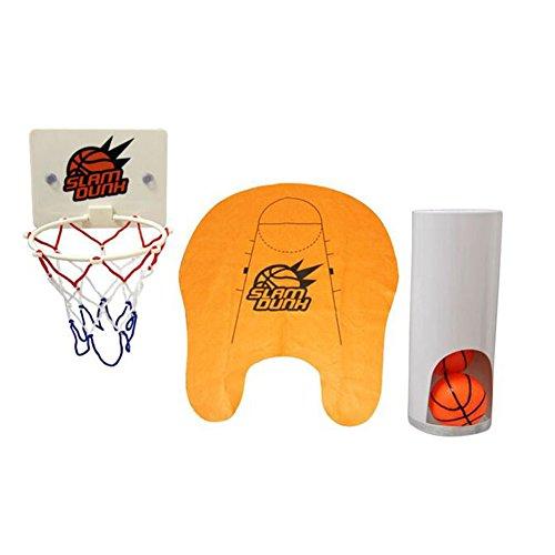 Best Offer Buy Novelty Toilet Bathroom Basketball Slam Dunk Game Toy Set