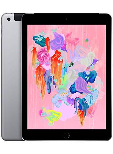 Apple iPad (Wi-Fi + Cellular, 128GB) - Space Gray (Latest Model)