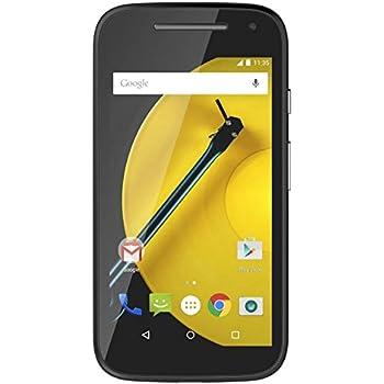 Motorola Moto E (2nd Generation) Locked Cellphone, Black