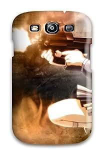 Awesome ANLzdJM13684rPkZE DanRobertse Defender Tpu Hard Case Cover For Galaxy S3- Angels Gunslinger Girl Girls With Guns Anime Henrietta Gunslinger Girl