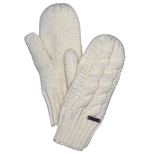 TrailHeads Women's Cable Knit Mittens with Fleece Lining - wintry (Cable Knit Mittens)