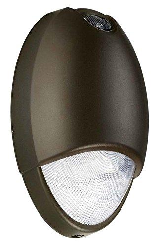 Lightworld L-LED-ACEM-BZ, LED Wet Location ACEM Emergency Light Unit Bronze, 120/277V, UL 924 Listed for Wet Location, AC Mode, 90 Minute Emergency Backup