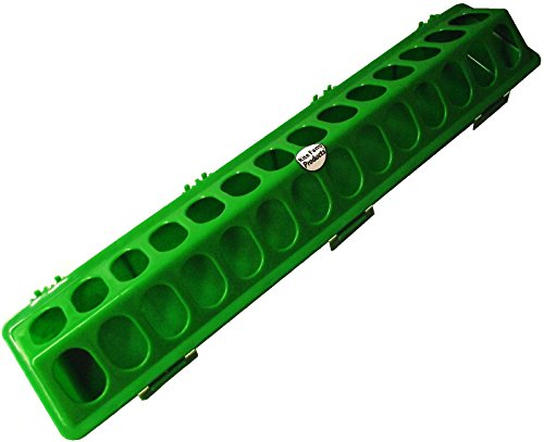 20-GREEN-RITE-RARM-PRODUCTS-POLY-FLIP-TOP-CHICKEN-FEEDER-28-HOLE-FOR-POULTRY-CHICK