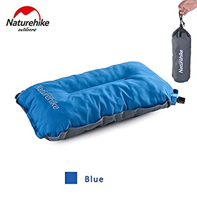 Outdoor Camping Mat Automatic Inflatable Pillow Air Cushion Pillow Sponge Travel Air Soft Cushion Ultralight Easy to Carry