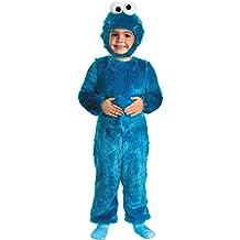 Cookie Monster Comfy Fur Costume - Toddler Medium