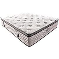 Milton Greens Stars 5059 CK Luxury Gel Memory Foam Encased Pocketed Coil Mattress (California King)