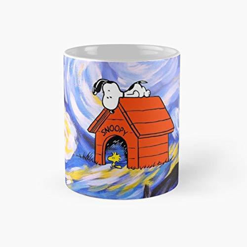 Sleepy Halloween Mug, snoopy Funny Mugs, 11 Ounce Ceramic Mug, Perfect Novelty Gift Mug, Tea Cups, Funny Coffee Mug 11oz, Tea Mugs]()