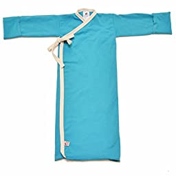 Infant Kimono Wrap, Aqua, 5-9 lbs