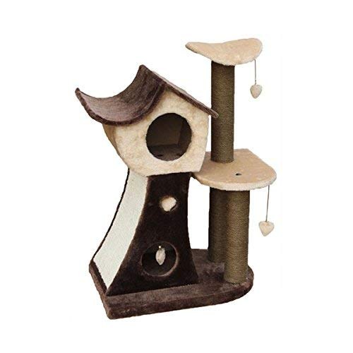 ARBRE A CHAT Cat Toy Paris Brown