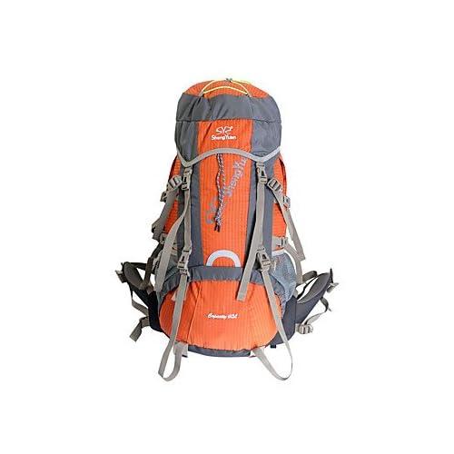 BBYaKi 60 L Randonnée Pack Sac À Dos Sac À Dos De Randonnée Escalade Sport De Détente Camping & Randonnée Voyageetanche Séchage Rapide