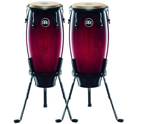 Meinl Headliner Wine Red Burst 10 & 11 wood Conga - 11 Wood Conga Set