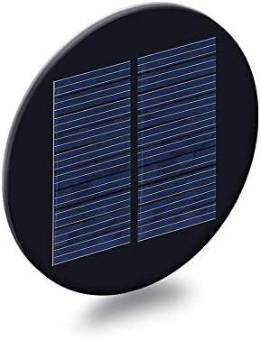 XinQuan Wang 4.5V 100mAの直径88.5ミリメートル多結晶シリコン太陽電池