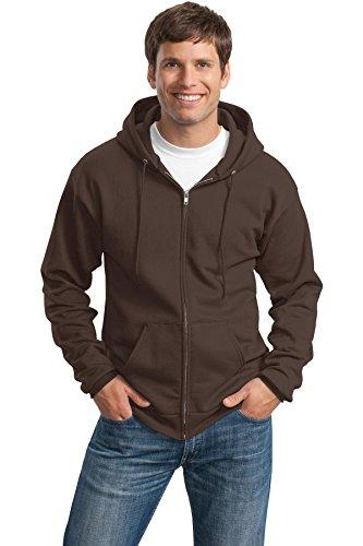 Brown Hooded Fleece - 2