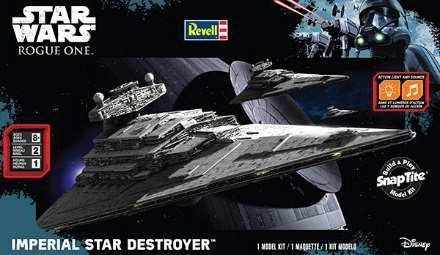 Star Wars Rogue One  Imperial Star Destroyer W Sound  Build   Play Snap
