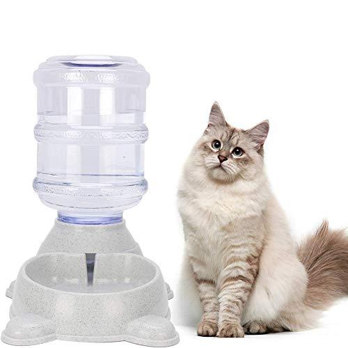TXDIRECT Futterspender Katze Trockenfutter Futterautomat Katze Nassfutter Hundenahrungsmittelschüssel Welpen-Feeder Food…