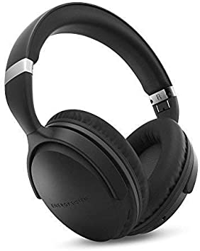 Energy Headphones BT Travel 7 ANC (Active Noise Cancelling, Bluetooth, Control Talk, Foldable, Extended Battery) - Black