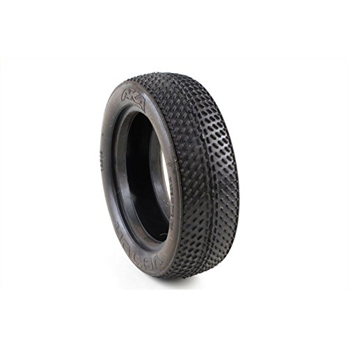 AKA Racing 13209V 1/10 Buggy Vektor 2WD Front Super Soft Tire (Low Profile Buggy Tire)