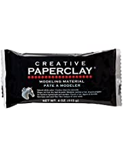 Creative Paperclay Clay for Modeling Compound, White