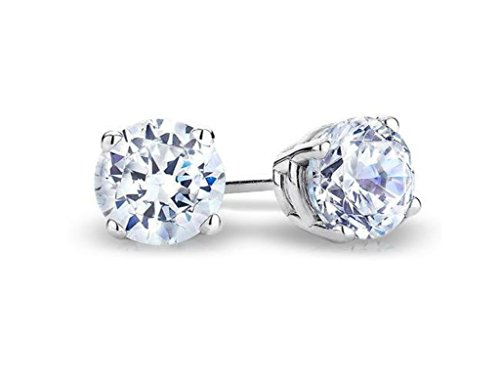 0.25 Ct Diamond Earrings - 6