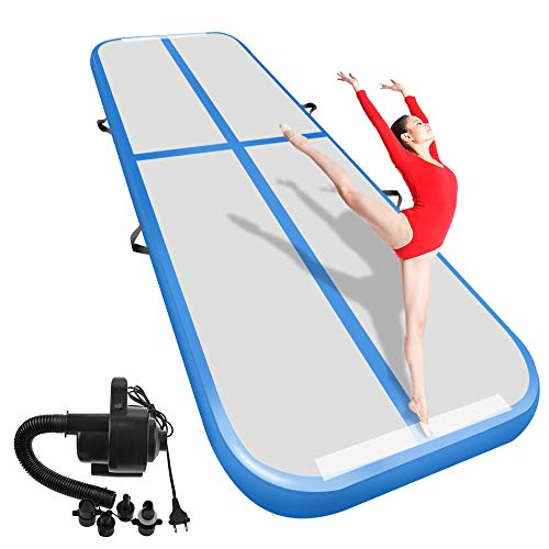 3m 10ft Air Track Floor Tumbling Inflatable Gym Mat Water Sport Training Fitness Ambitious Usa Free Shipping