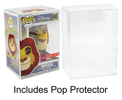 Lion Target - Funko POP! Disney Lion King Mufasa Target Exclusive with Pop Protector