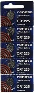 CR1225 Renata Watch Batteries 5Pcs