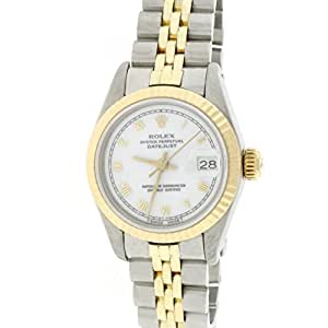 Rolex Date automatic-self-wind female Watch 69173 (Certified Pre-owned)