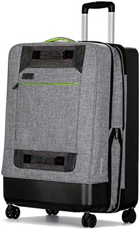 All of Us 28 inch Lightweight Hybrid Rolling Large Spinner Suitcase