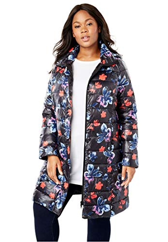 Woman-Within-Plus-Size-Long-Packable-Puffer-Jacket