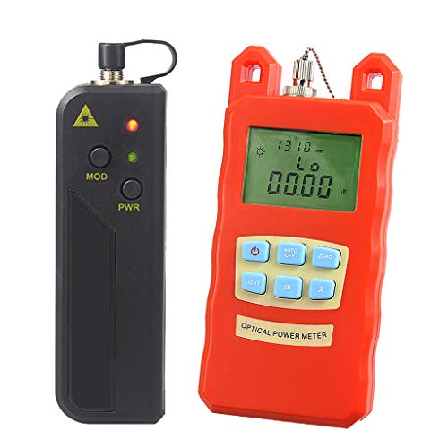 SM SunniMix -70dBm~+10dBm 850~1625nm Optical Power Meter Tester FC SC Handheld Optical Power Meter + with 30mW Visual Fault Locator by SM SunniMix (Image #10)
