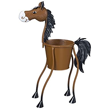 Gift Corral Horse Planter - Large