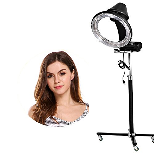 Professional Hair Steamer Rolling Stand Beauty Salon Color: Hindom Professional Salon Hair Steamer With Rolling Floor